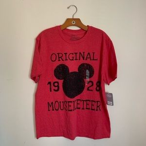 """NWT! DISNEY Mickey Mouse """"Mouseketeer"""" Tee"""